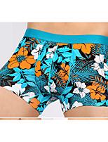 Retro Jacquard Boxers Underwear,Cotton