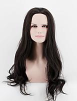 Япония и Южная Корея мода жизнь черный естественный прямые волосы натуральный песок высокотемпературный парик