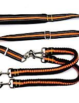 Katzen Hunde Geschirre Hundekleidung Frühling/Herbst einfarbig Modisch Orange Grün Blau