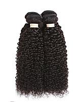 Cabelo Humano Ondulado Cabelo Brasileiro Encaracolado 6 meses 3 Peças tece cabelo