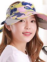 Women 's Summer Sunscreen Camouflage Printed Beach Telescopic Mountain Biking Baseball Hat Sports Empty Cap