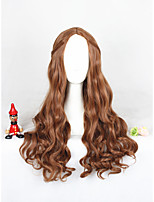 Perruque cosplay marron longue longueur perruque synthétique 24inch anime cs-304a