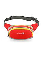 1L L Bolsa de cinturón Impermeable A prueba de lluvia Listo para vestir Verde Rojo Negro Azul Morado Otros