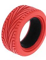 Général RC Tire Pneu RC Cars / Buggy / Camions Rouge Caoutchouc Plastique