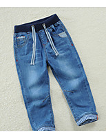 Boys' Casual/Daily Solid Pants-Polyester Summer Spring Fall