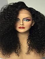 rendas frente perucas encaracolado 8-26 polegadas 150% glueless perucas de cabelo humano laço glueless brasileiro virgem do cabelo humano