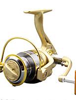 Moulinet pour pêche Moulinet spinnerbaits 5.2:1 10 Roulements à billes Droitier Pêche générale-GF3000