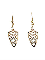 Drop Earrings Alloy Fashion Euramerican Triangle Shape Gold Jewelry Wedding Party Halloween Daily Casual Sports 1 pair