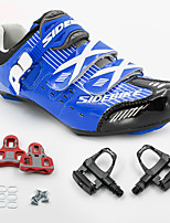 BODUN/SIDEBIKE® Road Bike Shoes Cycling Shoes With Pedals & Cleats Cushioning Ultra Light (UL) Outdoor Road Bike Cycling