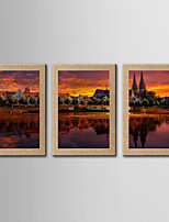 Fotografische Print Berühmte Landschaft Modern Klassisch,Drei Paneele Panorama Druck-Kunst Wand Dekoration For Haus Dekoration