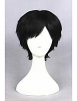 kurze schwarze Shigatsu wa Kimi no uso arima Kousei synthetische 12inch anime Cosplay wigcs-255a