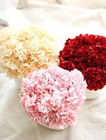 1 Branch Polyester Plastic Roses Tabletop Flower Artificial Flowers 9*9