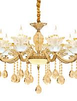 Люстры и лампы ,  Традиционный/классический Прочее Особенность for Хрусталь Металл Гостиная Спальня Столовая Кабинет/Офис