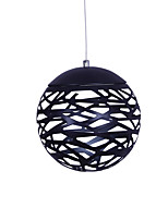 Led 7W Pendant Light   Modern/Contemporary Painting Feature for LED Metal Dining Room Coffee Bar Black & White