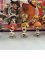 Anime Action Figures Inspired by Love Live Cosplay PVC 8 CM Model Toys Doll Toy 1set