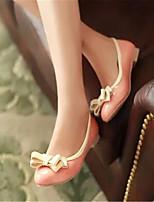-Для женщин-Повседневный-Полиуретан-На плоской подошве-Удобная обувь-Мокасины и Свитер