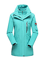 Women's Winter Jacket 3-in-1 Jackets Skiing Camping / Hiking Hunting Snowsports SnowboardingWaterproof Breathable Thermal / Warm Windproof