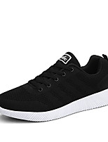 Men's Athletic Shoes Spring Summer Fall Winter Comfort Tulle Outdoor Athletic Casual Lace-up Walking