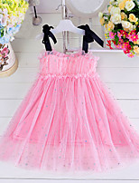 Ball Gown Knee-length Flower Girl Dress - Lace Tulle Satin Chiffon Straps with Draping Lace
