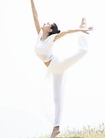 Yoga Ensemble de Vêtements/Tenus Respirable Haute respirable (>15,001g) Matériaux Légers Confortablenon élastique Extensible Haute