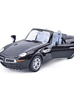 Гоночная машинка Машинки с инерционным механизмом Игрушки на солнечных батареях 1:28 ABS Серебристый черный увядает БелыйМодели и