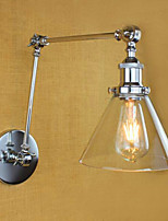 AC 110-130 AC 220-240 40 E26/E27 Country Retro Electroplated Feature for Mini Style Bulb Included Eye Protection Swing Arm Lights