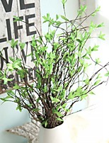 1 Branch Rattan Plants Tabletop Flower Artificial Flowers
