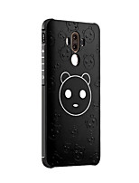 For Huawei Mate 9 Mate 9 Pro Case Cover Shockproof Frosted Embossed Pattern Back Cover Cartoon Soft Silicone Honor 6X Mate 8 Mate7 Nova