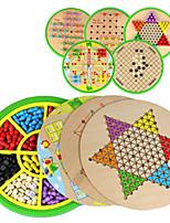 Board Game Games & Puzzles Circular Wood