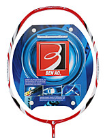 Raquetes para Badminton Força Alta Durabilidade Estabilidade Fibra de Carbono Um Par × 2 paraAo ar Livre Espetáculo Praticar Esportes de