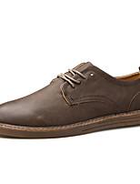 мужская спортивная обувь весна лето комфорт Пу тюль спортивная случайные шнуровке бега