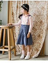 Girls' Casual/Daily Solid Overall & Jumpsuit Summer