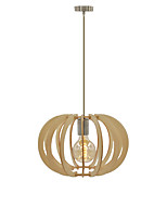 Pendant Light ,  Modern/Contemporary Traditional/Classic Rustic/Lodge Vintage Retro Country Island Wood Feature for Designers Wood/Bamboo