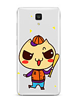 For Xiaomi  Mi 4  Mi 5Transparent Pattern Case Back Cover Case Cartoon Soft TPU for  Mi 5s Plus  Mi 5s  Mi4s 3