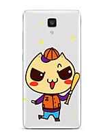 Para Transparente Diseños Funda Cubierta Trasera Funda Dibujos Suave TPU para XiaomiXiaomi Mi 5 Xiaomi MI 4 Xiaomi Mi 5s Xiaomi Mi 5s