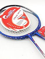 Badmintonschläger Dauerhaft Ferrolegierung 1 Stück für Drinnen Draußen Leistung Training Legere Sport-#