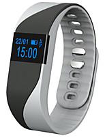 Smart Armband Herzfrequenzmonitor Anruferinnerung Pedometer Schlaf Remote-Kamera-OLED-Display-Armbänder für iphone ios android