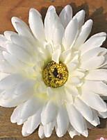 1 Ramo Plástico Crisântemo Flor de Mesa Flores artificiais 10*10*2