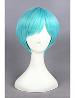Short light blue touken ranbu en ligne ichigohitofuri synthétique 12inch anime cosplay perruque cs-231k