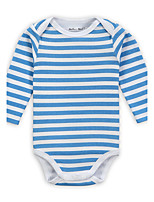 Baby Casual/Daily Sports Holiday Solid One-Pieces Bodysuit Cotton Spring Fall Long Sleeve Romper