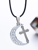 Men's Pendant Necklaces Jewelry Chrome Jewelry Dangling Style Jewelry Daily Casual 1pc