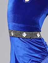 Girls Dance Belt Women's Performance Crystals/Rhinestones 1 Piece Belt