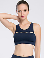 Women's Sleeveless Running Tops Breathable Comfortable Sports Wear Running Polyester Terylene Tight Sexy Fashion Solid