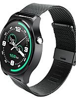 sport chic fréquence cardiaque en temps réel de la vie montre étanche surveillance montre-bracelet de montre en acier inoxydable mtk2502
