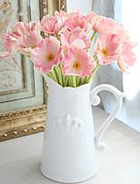 1 Une succursale Plastique Autres Fleur de Table Fleurs artificielles 33*7