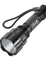 LED Flashlights/Torch LED Lumens Mode 18650 Easy Carrying Camping/Hiking/Caving Everyday Use Outdoor Aluminum alloy