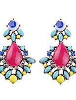 Серьги указан Бижутерия Мода Богемия Стиль Euramerican Драгоценный камень Бижутерия Светло-синий Бижутерия ДляСвадьба Для вечеринок