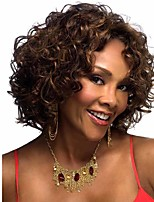 Afro Curly Wig Short Wigs Quality Assurance Synthetic Hair For African Black Women