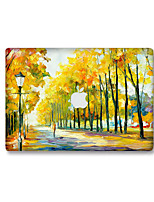 1 pièce Anti-Rayures Paysage En Plastique Transparent Décalcomanie Glow in the Dark Motif PourMacBook Pro 15'' with Retina MacBook Pro 15