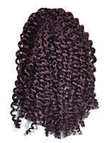 Locken Afro verworren Zöpfe Haarverlängerungen Kanekalon Haar Borten